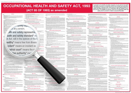 Occupational Health & Safety Act | Monument Cleaning Solutions