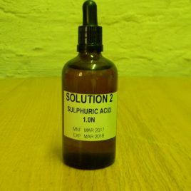 Sulphuic Acid 1.0 N Dropper Bottle 35ml