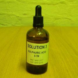 Sulphuic Acid 0.1 N Dropper Bottle 50ml
