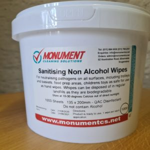 General Sanitizing Non Alcoholic Wipes 500 Sheets